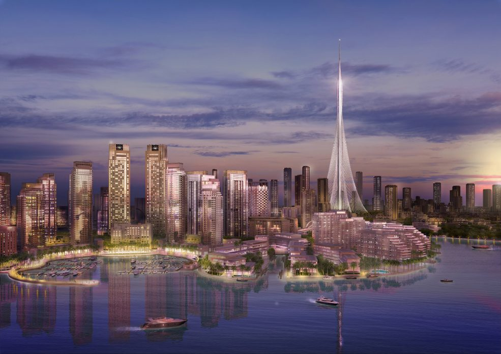 Emaar Says The Wind Tests are Completed on The Tower at Dubai Creek Harbour - Coming Soon in UAE, comingsoon.ae
