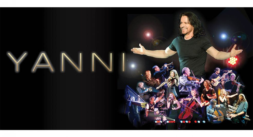 Yanni Live in Abu Dhabi - Coming Soon in UAE, comingsoon.ae