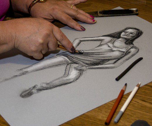 Expressive Charcoal Drawing and Mixed Media Workshop in Dubai - Coming Soon in UAE, comingsoon.ae
