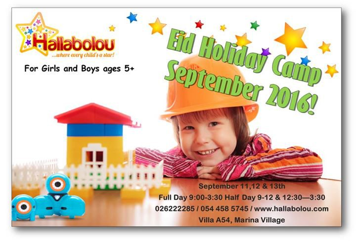 Hallabolou Eid Holiday Camp in Abu Dhabi - Coming Soon in UAE, comingsoon.ae