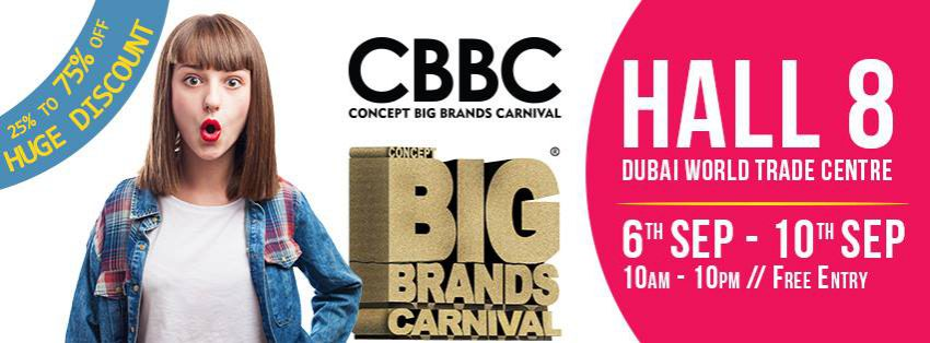 Concept Big Brands Carnival in Dubai - Coming Soon in UAE, comingsoon.ae