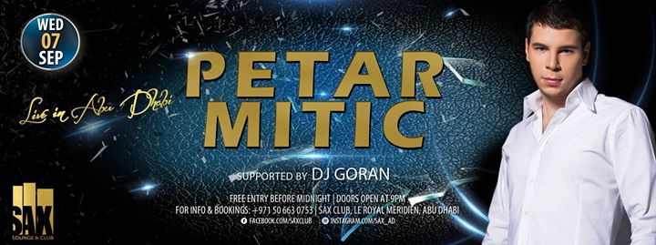 Balkan Night feat. Petar Mitic in Abu Dhabi - Coming Soon in UAE, comingsoon.ae