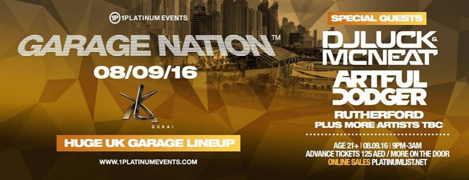 Garage Nation in Dubai - Coming Soon in UAE, comingsoon.ae