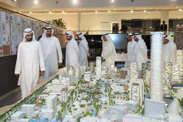 Sheikh Mohammed Bin Rashid Launches Jumeirah Central Project in Dubai - Coming Soon in UAE, comingsoon.ae