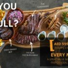 The Steaks Are High meat night at Q43, Dubai