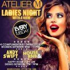 Ladies Night at ATELIER M, Dubai