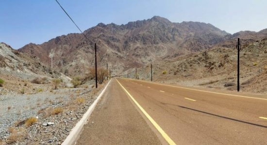 New road from UAE to Oman will be opened by next year - comingsoon.ae