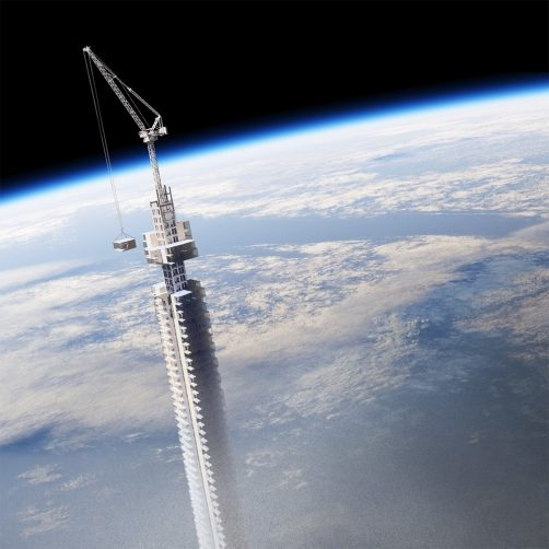 The world's tallest skyscraper hanged from orbiting asteroid will be constructed in Dubai - Coming Soon in UAE, comingsoon.ae