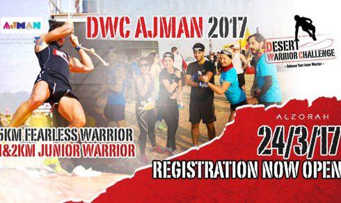 Desert Warrior Challenge in Ajman - Coming Soon in UAE, comingsoon.ae