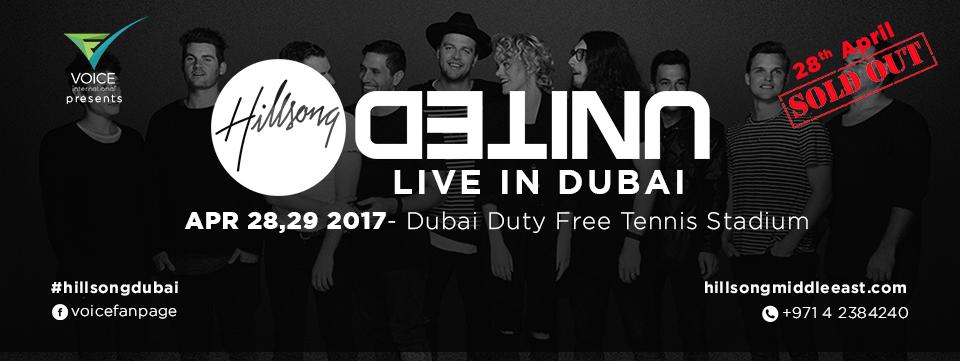 HILLSONG United Live in Dubai in   Coming Soon in UAE