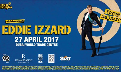 Eddie Izzard in Dubai - Coming Soon in UAE, comingsoon.ae