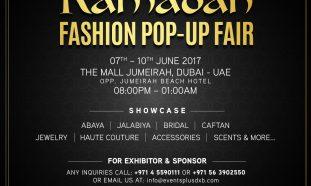 Ramadan Fashion Pop-up Fair 2017 in Dubai - Coming Soon in UAE, comingsoon.ae