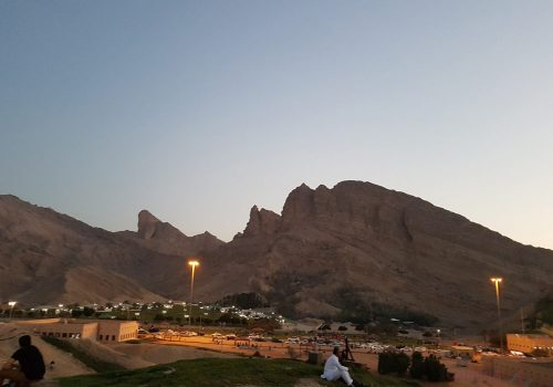 Evening in Al Ain