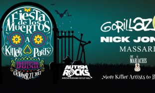 Nick Jonas and Gorillaz to Headline Fiesta De Los Muertos - Coming Soon in UAE, comingsoon.ae