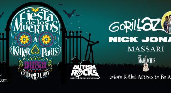 Nick Jonas and Gorillaz to Headline Fiesta De Los Muertos - comingsoon.ae