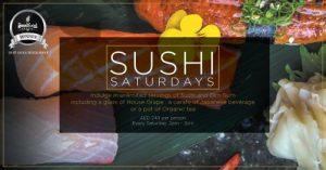 Sushi Saturdays