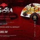 Geisha Dinner Party at Cavalli Club, Dubai