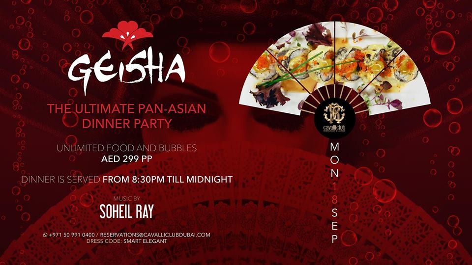 Geisha Dinner Party