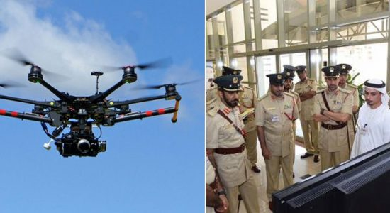 Dubai Police is going to use drones to monitor traffic - comingsoon.ae