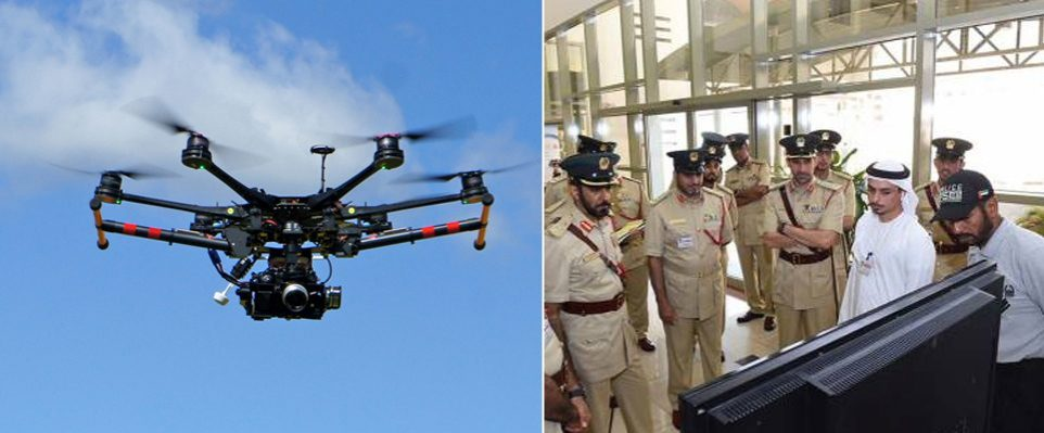 Dubai Police is going to use drones to monitor traffic - Coming Soon in UAE, comingsoon.ae