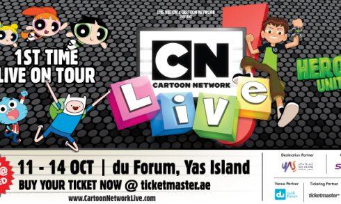 Cartoon Network Live in Abu Dhabi - Coming Soon in UAE, comingsoon.ae