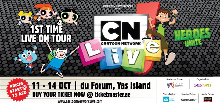 Cartoon Network Live in Abu Dhabi - Coming Soon in UAE, comingsoon.ae