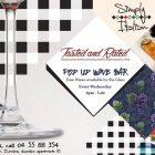Pop up Wine Bar at Simply, Dubai