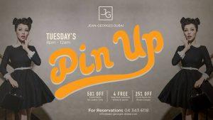 Pin Up Ladies Night