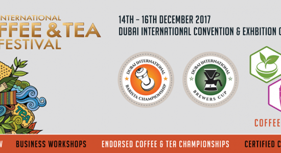 International Coffee & Tea Festival 2017 - comingsoon.ae