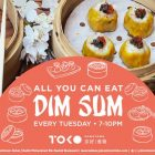 All You Can Eat Dim Sum at Downtown Toko
