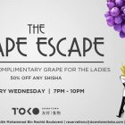 The Grape Escape at Downtown Toko