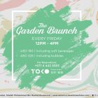 The Garden Brunch at Downtown Toko