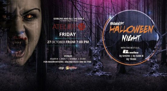 Halloween Party at Atelier M - comingsoon.ae