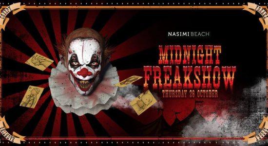 Midnight Freakshow at Nasimi Beach - comingsoon.ae