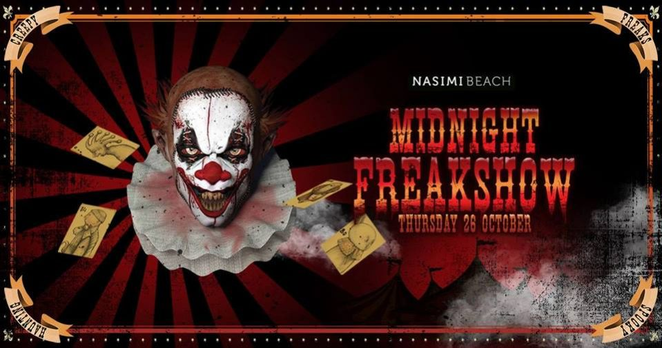 Midnight Freakshow at Nasimi Beach - Coming Soon in UAE, comingsoon.ae