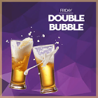 Double bubble at Bubbles Bar, Dubai