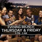 Evening Brunch at Spice and Ice, Dubai