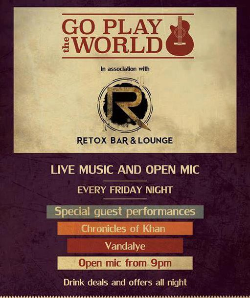 OPEN MIC WITH GO PLAY THE WORLD
