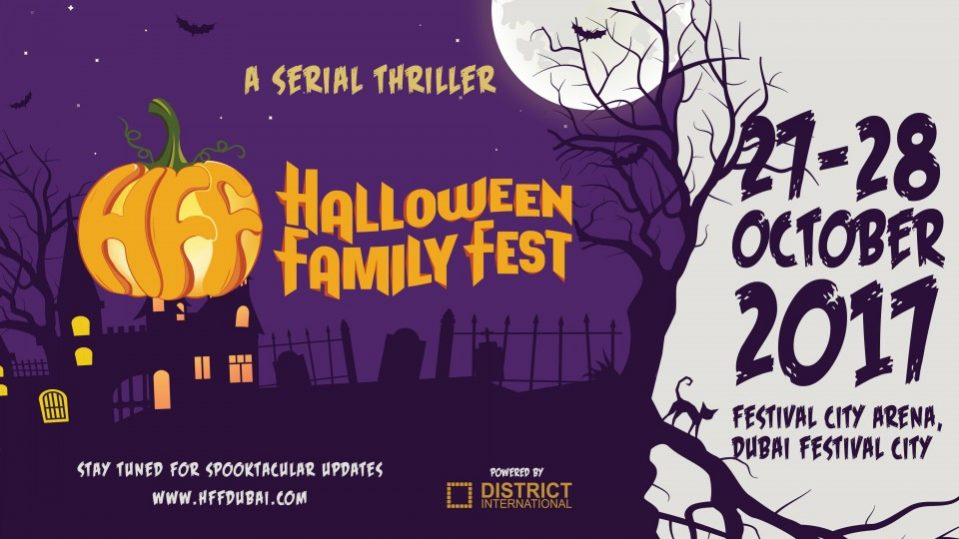 Halloween Family Fest 2017 - Coming Soon in UAE, comingsoon.ae