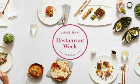 Jumeirah Restaurant Week 2017 - Coming Soon in UAE, comingsoon.ae