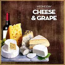 Cheese & grape