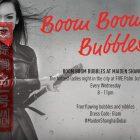 Boom Boom Bubbles at Maiden Shanghai, Dubai