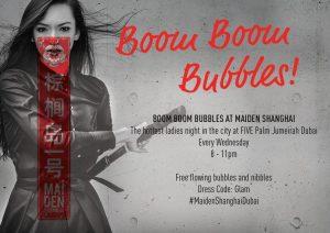 Boom Boom Bubbles