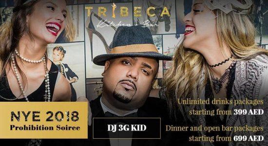 Prohibition Soiree – NYE 2018 at Tribeca - comingsoon.ae