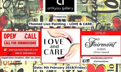 Love and Care Live Art - Coming Soon in UAE, comingsoon.ae