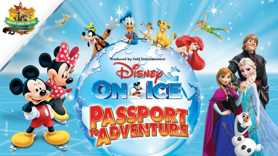 Disney On Ice-Passport to Adventure - Coming Soon in UAE, comingsoon.ae