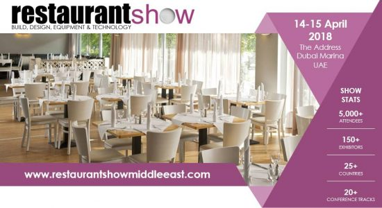 Restaurant Show 2018 - comingsoon.ae