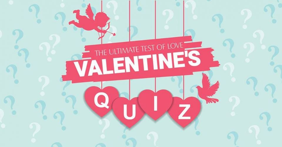 Valentines Quiz at McGettigan's JLT - Coming Soon in UAE, comingsoon.ae