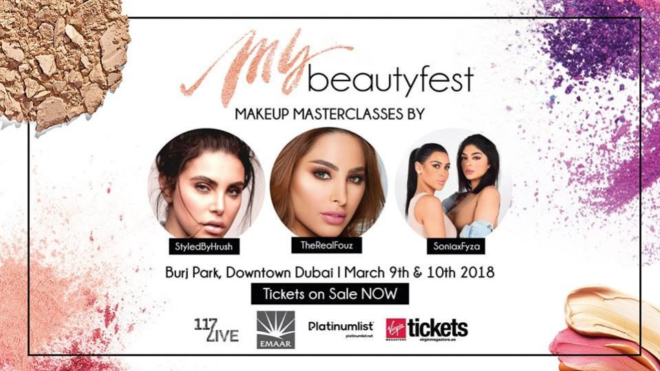 MyBeautyFest 2018 - Coming Soon in UAE, comingsoon.ae