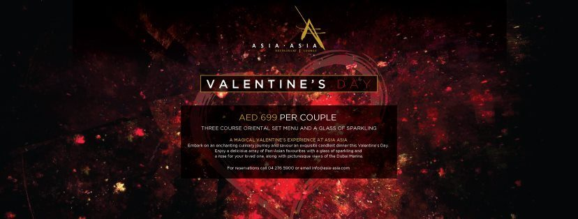Valentine's Day at Asia Asia - Coming Soon in UAE, comingsoon.ae